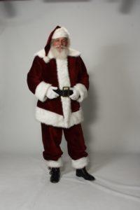 Naturally bearded Santa Howard - Have Santas Will Travel