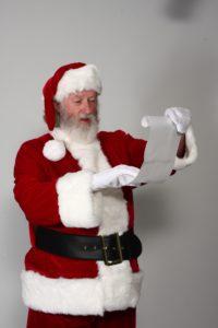 Naturally bearded Santa Carl - Have Santas Will Travel